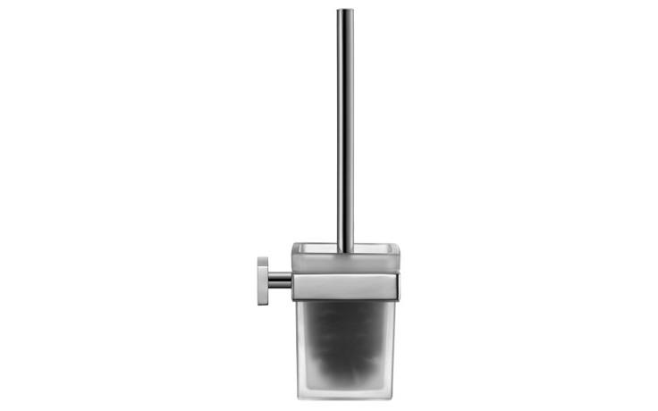 Doplněk WC sada Duravit Karree  chrom/matné sklo