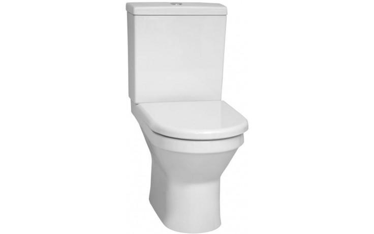 VITRA S50 WC mísa 360x655x400mm, vodorovný odpad, bílá
