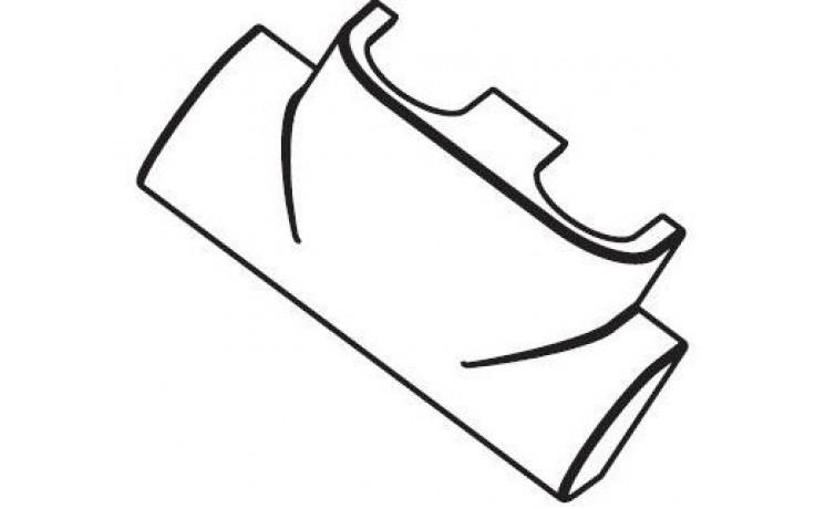"""Příslušenství k ventilu - - Concept - designová krytka pro """"Multiblock T"""" - rohový  nerez ocel"""