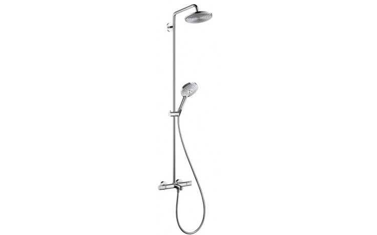 HANSGROHE SELECT termostat Ecostat Comfort/horní sprcha Raindance S 240 Air chrom 27117000