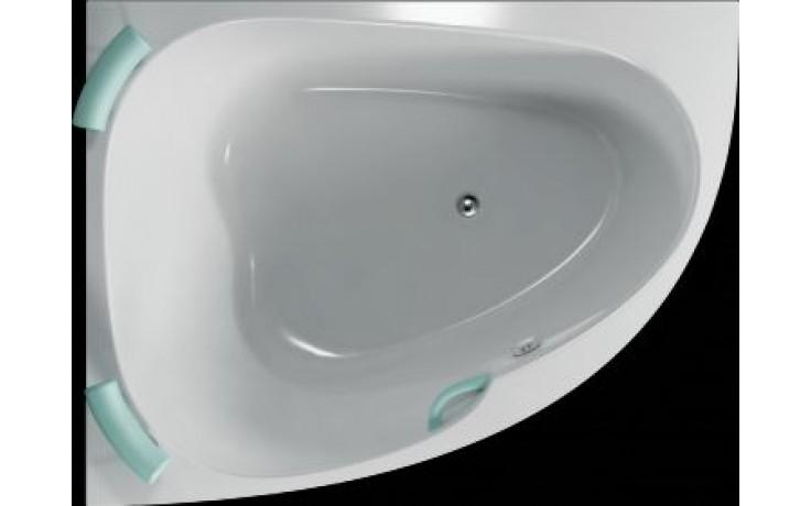 Vana plastová Teiko tvarovaná Spinell 180 L 180x130x54cm bílá
