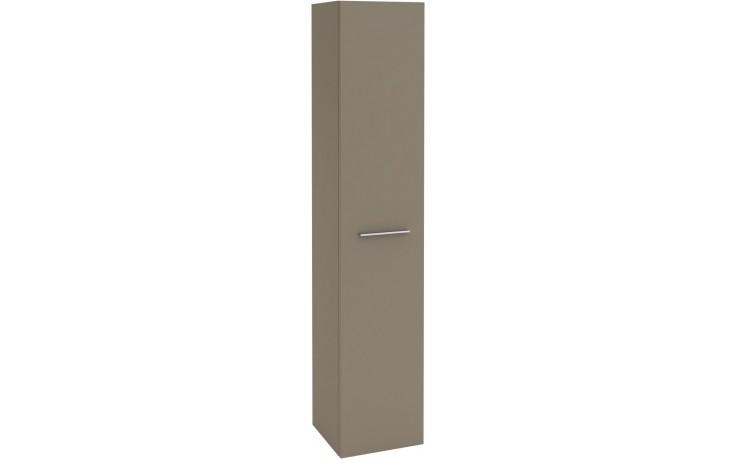 Nábytek skříňka Villeroy & Boch Verity Design vysoká 350x1743x340 mm antracitová lesk