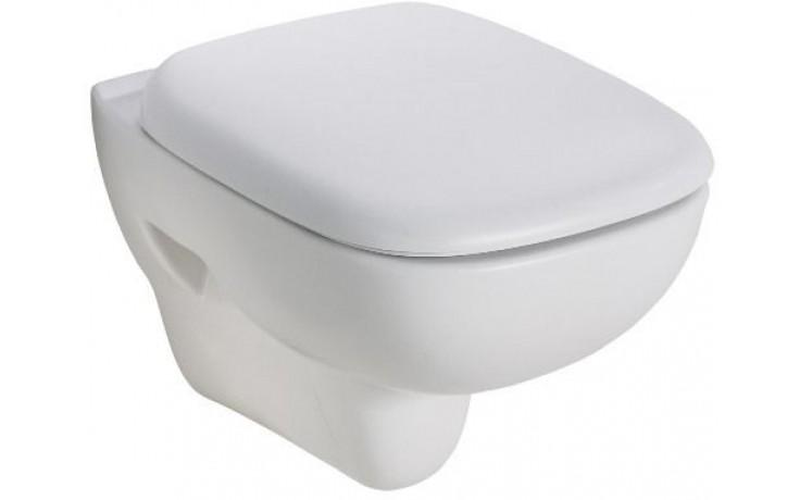 WC závěsné Kolo odpad vodorovný Style s hlubokým splachováním  bílá+Reflex