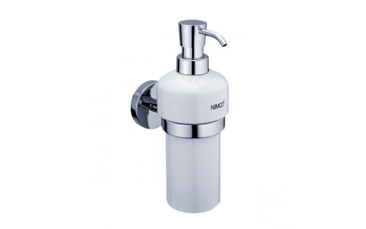 NIMCO UNIX dávkovač na mýdlo 76x197x147mm chrom/bílá UN 13031K-26