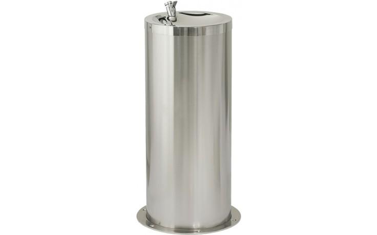 SANELA SLUN23 pitná fontánka 420x800mm, do prostoru, nerez mat