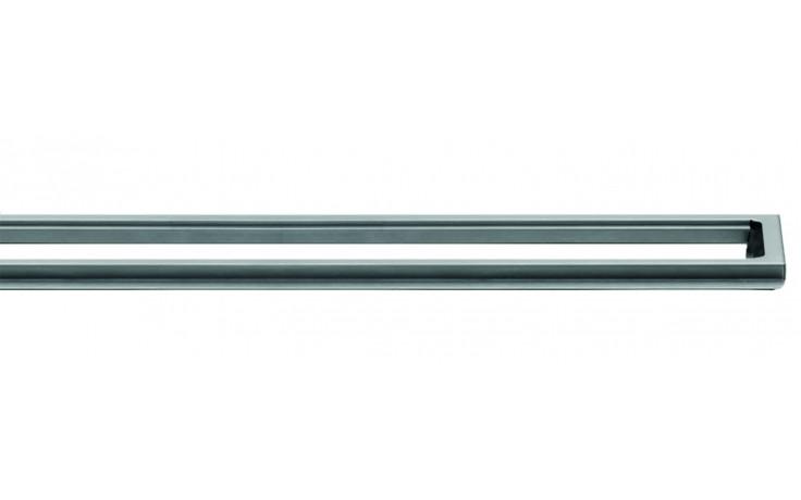 Příslušenství ke žlabům Unidrain - Rámeček prostorový ClassicLine 12mm v.12/délka 700mm nerez