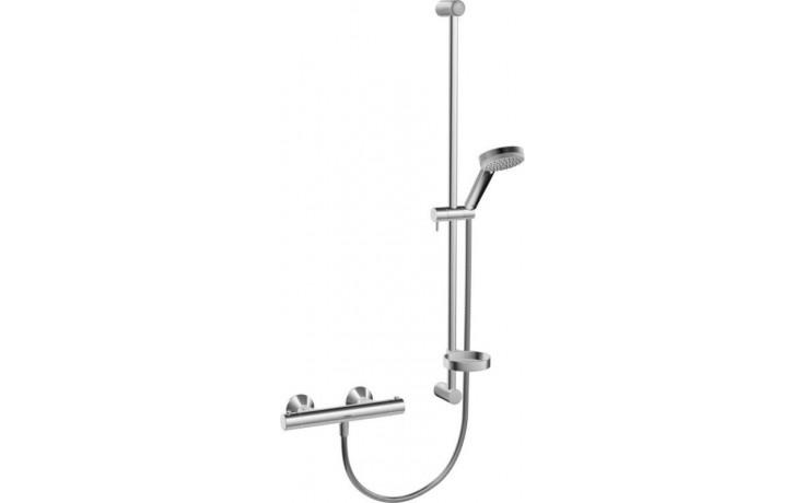 HANSA UNITA sprchová baterie DN15 termostatická nástěnná se sprchovým setem, chrom