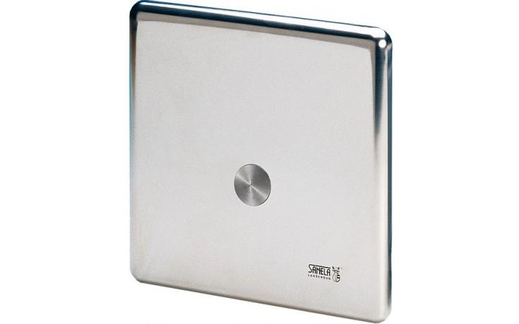 SANELA SLW01P piezo splachovač WC, 24V DC, nerez