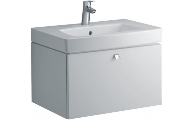 Umyvadlo nábytkové Ideal Standard s otvorem Ventuno 70x54 cm bílá