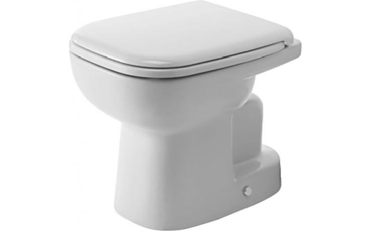 WC mísa Duravit odpad svislý D-Code  bílá