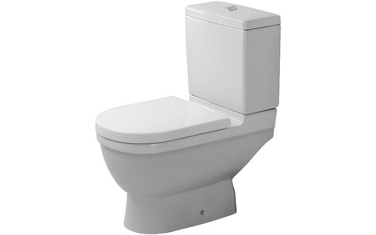 DURAVIT STARCK 3 stojící klozet 360x655mm kombinační, odpad svislý, bílá 0126010000