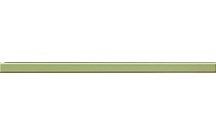 RAKO VANITY listela 40x2cm zelená WLRMG043