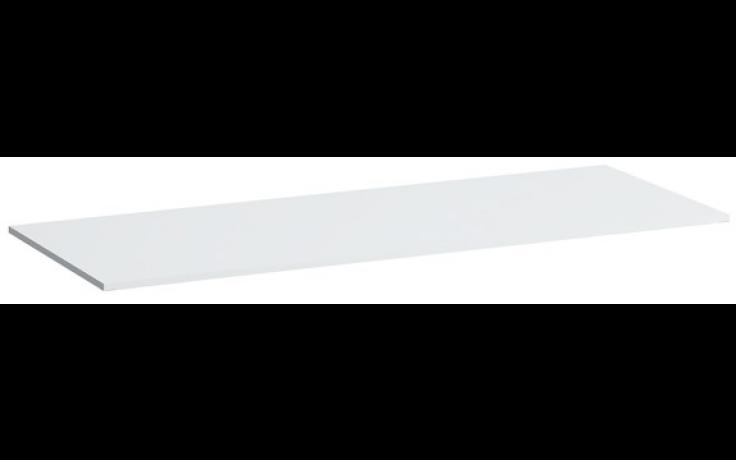 LAUFEN KARTELL BY LAUFEN deska 1800x460x12mm s výřezem vlevo, bílá lesklá 4.0778.2.033.631.1
