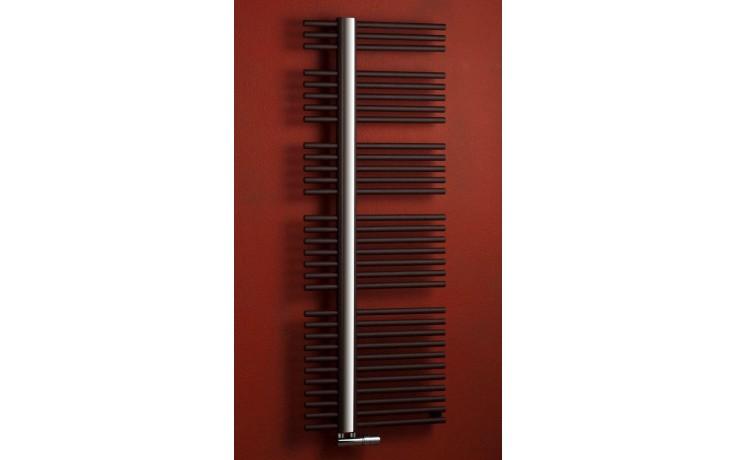 Radiátor koupelnový PMH Kronos 600/800 427 W (75/65C) černá RAL9005 FS