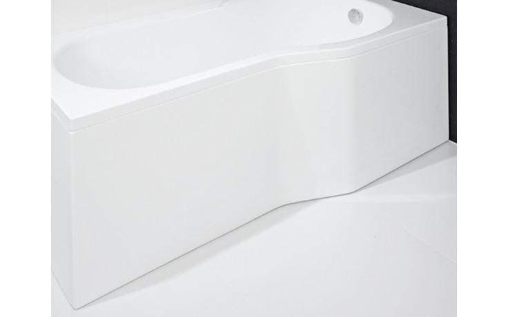 JIKA TIGO čelní panel pro pravou vanu, bílá