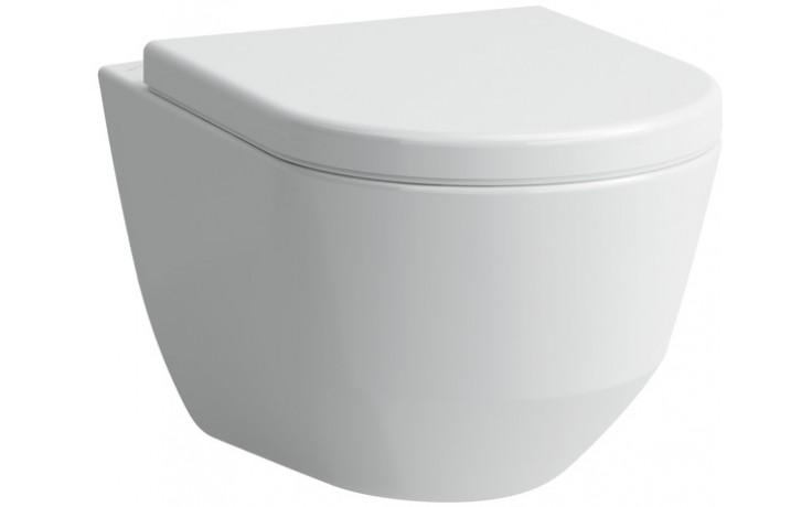 WC závěsné Laufen odpad vodorovný Pro  bílá