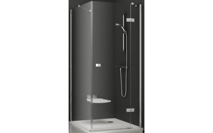 RAVAK SMARTLINE SMPS 100 pevná stěna 1000x1900mm jednodílná, levá, chrom/transparent