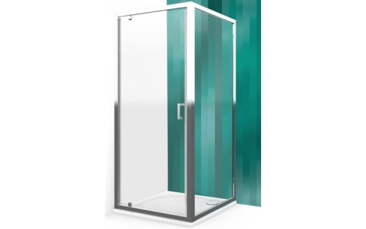 ROLTECHNIK LEGA LINE LLB/1000 boční stěna 1000x1900mm, polorámová, brillant/transparent