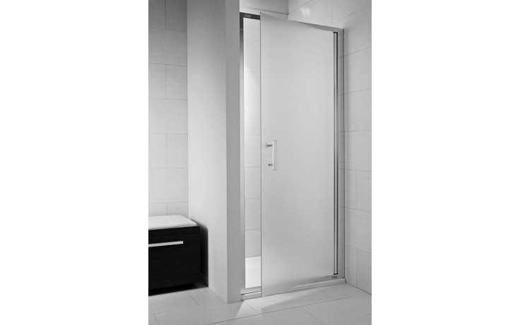 JIKA CUBITO PURE sprchové dveře 900x1950mm jednokřídlé, pivotové, transparentní