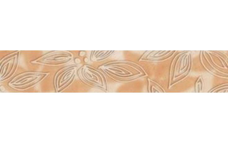 RAKO INSPIRACE listela 25x6,1cm oranžová