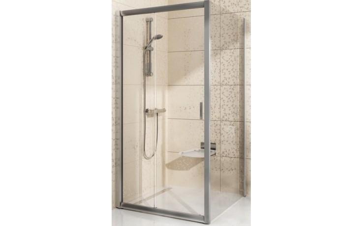 Zástěna sprchová boční Ravak sklo BLPS 1000x1900mm satin/transparent