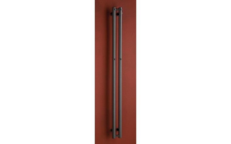 Radiátor koupelnový PMH Rosendal 420/1500 525 W (75/65C) metalická antracit 09/80170