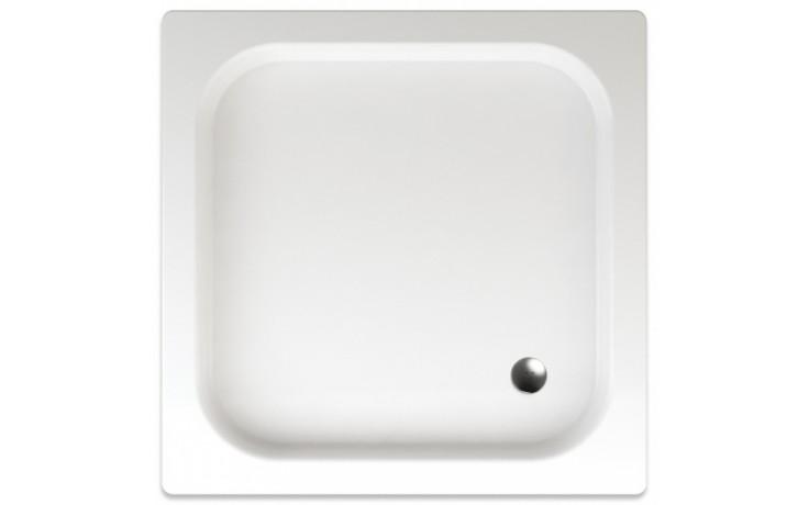 TEIKO KEA sprchová vanička 90x90x8cm, čtverec, s protiskluzem, akrylát, bílá