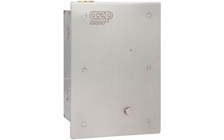 AZP BRNO BSAZ 01 splachovač klozetů 250x180mm, tlakový, bezpečnostní, nerez