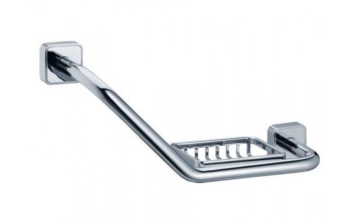 Doplněk držák s mýdlenkou Keuco Smart 324 mm - pravá chrom/ pravá
