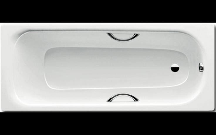 KALDEWEI SANIFORM MEDIUM STAR 246 vana 1700x700x315mm, ocelová, obdélníková, bílá Perl Effekt 220900013001