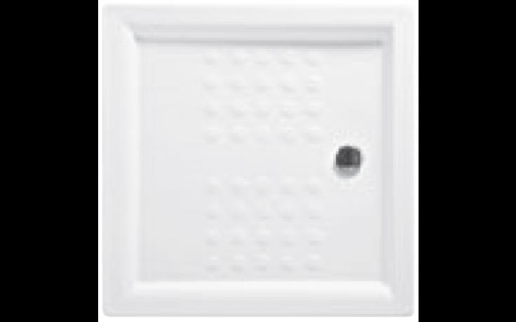 JIKA NEO-RAVENNA keramická sprchová vanička 900x900x80mm čtvercová, bílá