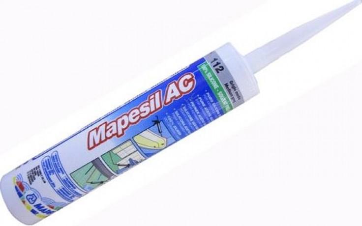 MAPEI MAPESIL AC silikonový tmel 310ml, těsnící, 161 starorůžová