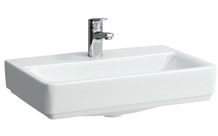 Umyvadlo nábytkové Laufen s otvorem Pro S 55 cm bílá-LCC