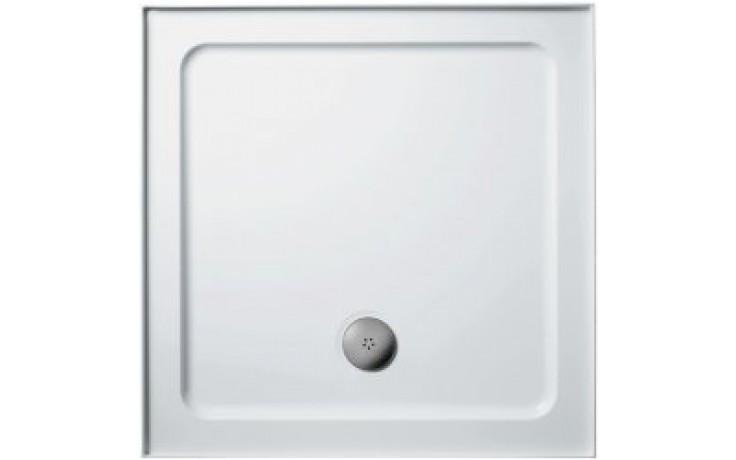 Vanička litý mramor Ideal Standard čtverec Simplicity Stone 700x700x40 mm bílá