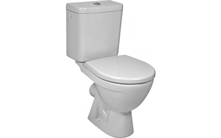 WC kombinované - odpad vodorovný Concept, dvojčinné splach.  bílá