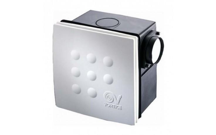 Ventilátor radiální Vortice - QUADRO I MICRO 100 I T s doběhem  bílá