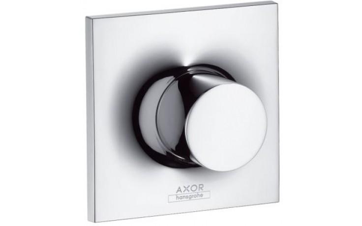 HANSGROHE AXOR MASSAUD TRIO/QUATTRO ventil uzavírací a přepínací podomítkový DN20 chrom 18730000