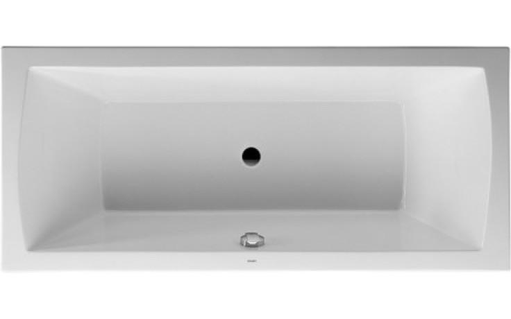 Vana plastová Duravit - Daro 180x80 cm bílá