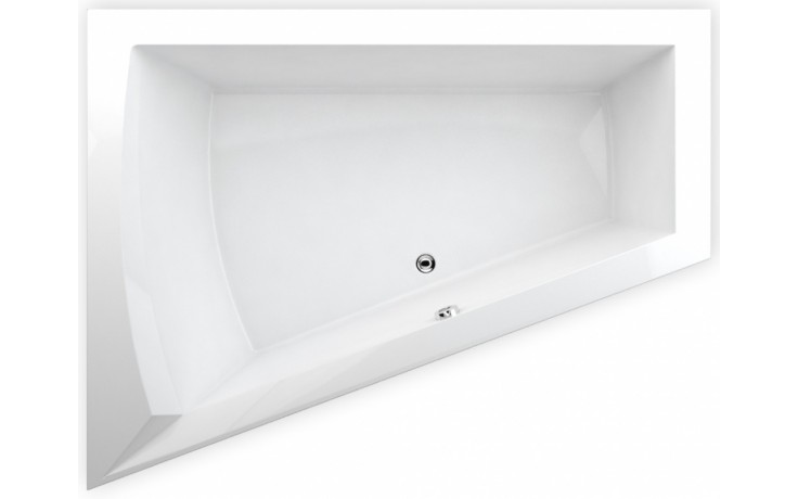 TEIKO GALIA L vana 175x135x50cm, rohová, akrylát, bílá