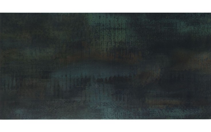 Dlažba Keraben Kursal Óxido 100x50x1,3 černá