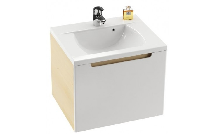 RAVAK SD CLASSIC 600 skříňka pod umyvadlo 600x490x470mm bílá/bílá
