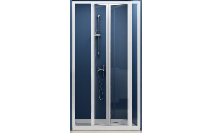 Zástěna sprchová dveře Ravak sklo SDZ3-90 zlamovací 90 bílá/grape