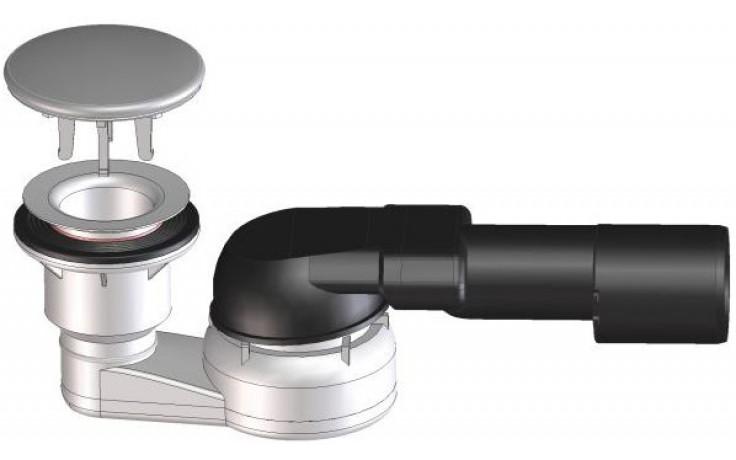 HL zápachová uzávěra DN40/50, nerez ocel/polypropylen/polyetylen