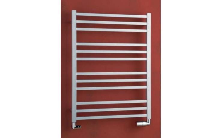 Radiátor koupelnový PMH Avento 500/1210 468 W (75/65C) metalická stříbrná 29/70587