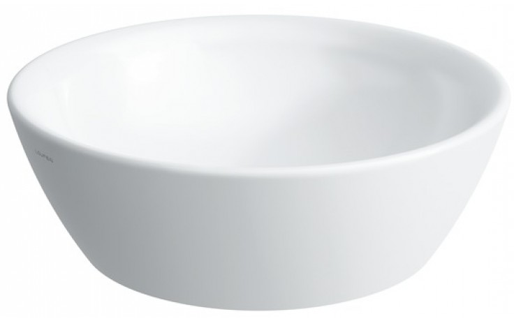 LAUFEN PRO umyvadlová mísa 420x420mm bez otvoru, bílá LCC