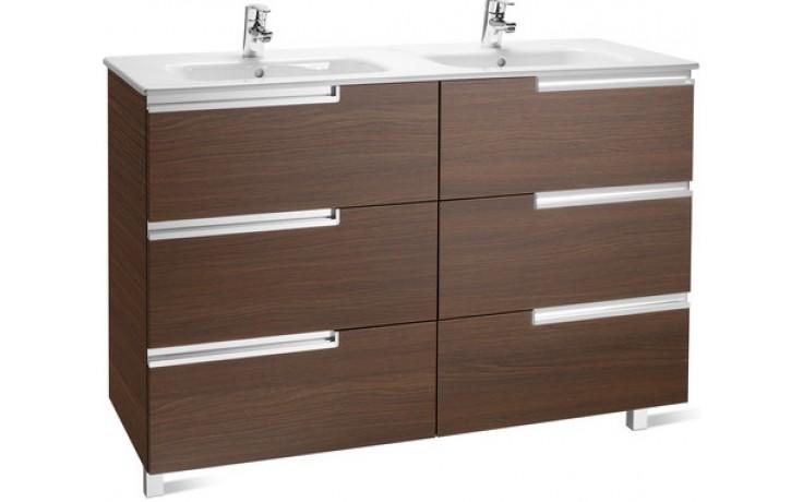 ROCA UNIK VICTORIA-N  FAMILY nábytková sestava 1190x460x740mm skříňka s dojumyvadlem wenge 7855835154