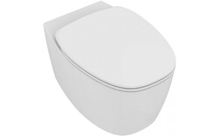 WC závěsné Ideal Standard odpad vodorovný Dea rimless  bílá mat