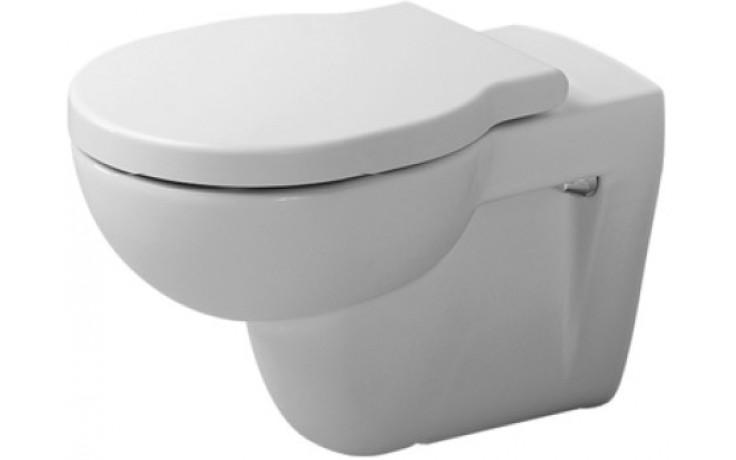 WC závěsné Duravit odpad vodorovný Foster s hlubokým splachováním 57x36 cm bílá