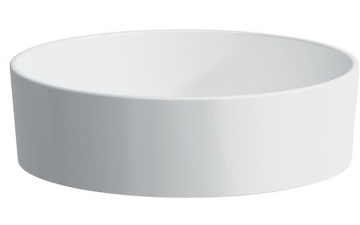 LAUFEN KARTELL BY LAUFEN umyvadlová mísa 420x420mm bez otvoru, bez přepadu, bílá 8.1233.1.000.112.1