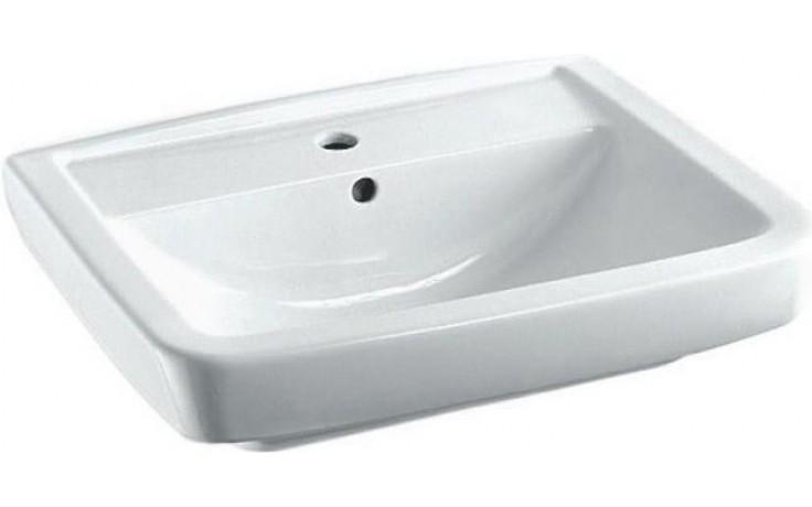 CONCEPT 200 STYLE klasické umyvadlo 600x470mm s otvorem, bílá alpin 5276L003-1121